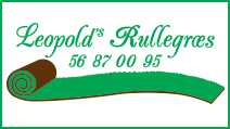 Leopolds Rullegræs | Enghavevej 9,Borup | DK-4100 Ringsted | Tlf. 56 87 00 95 | info@leopolds-rullegraes.dk